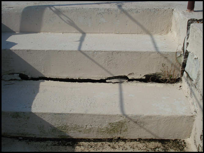 Cracked Stair Steps
