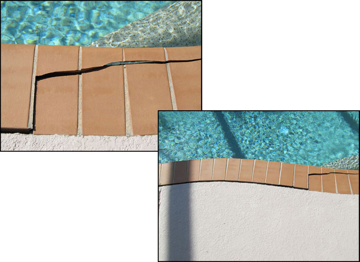 Cracked Pool Deck